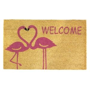 Other - FLAMINGO LOVE WELCOME MAT